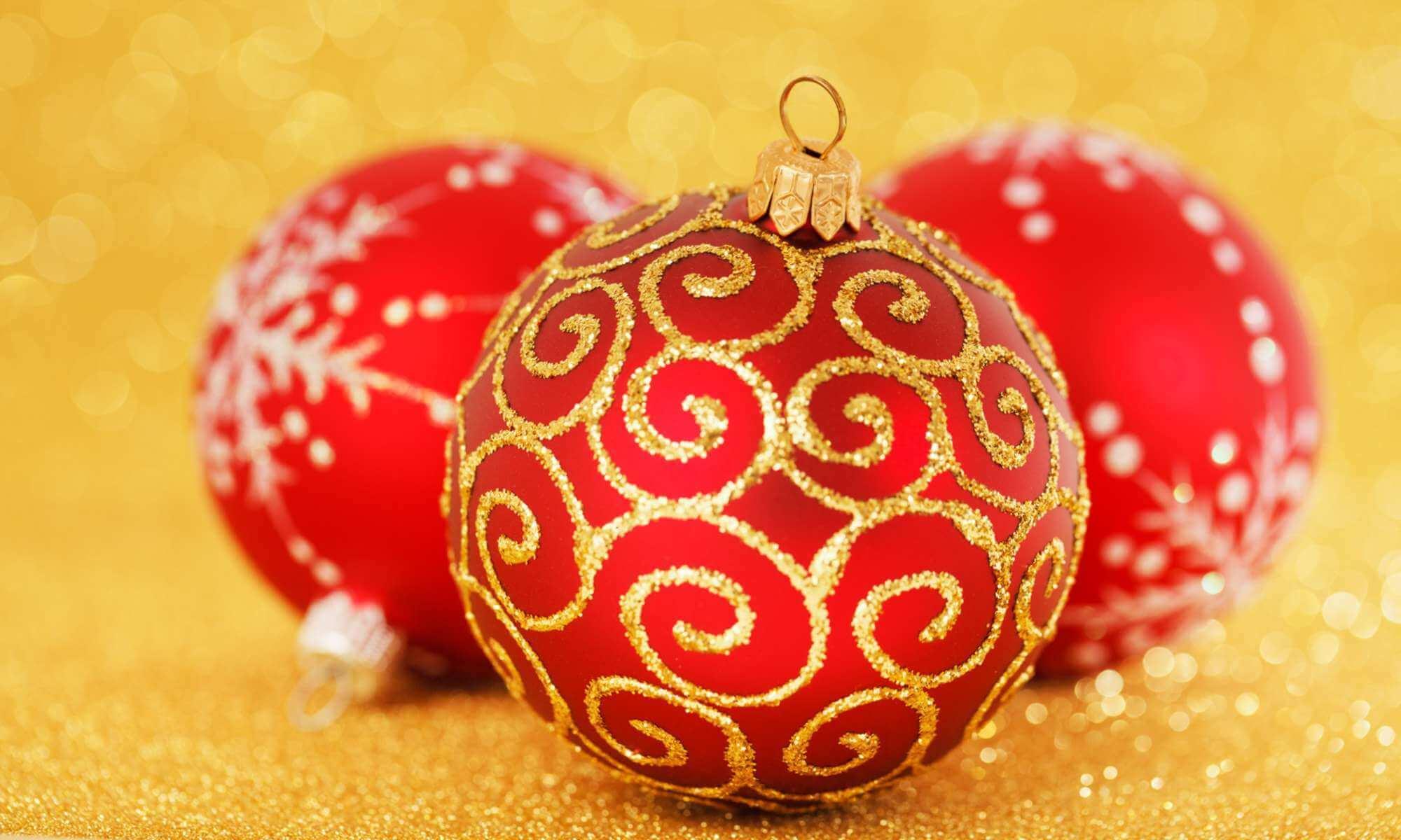 Jul och nyårsdekorationer